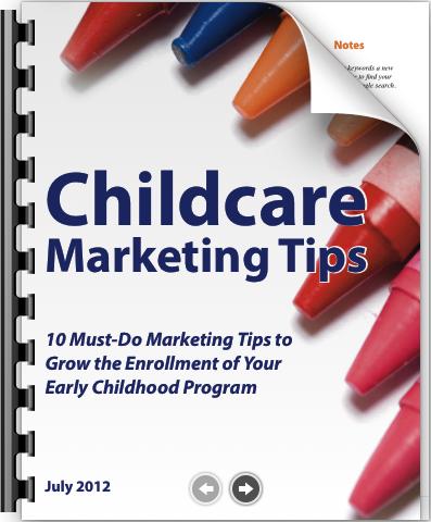 childcare marketing tips