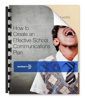 Create a School Communications Plan eBook Cover